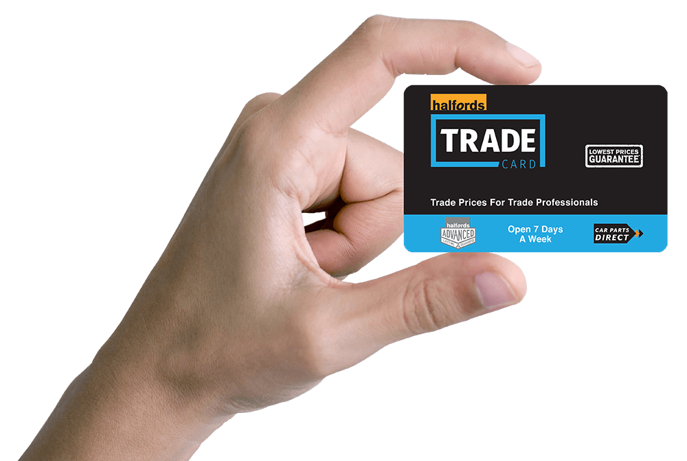 halfords trade card